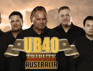 UB40 Tribute One In Ten Website Slider Banner