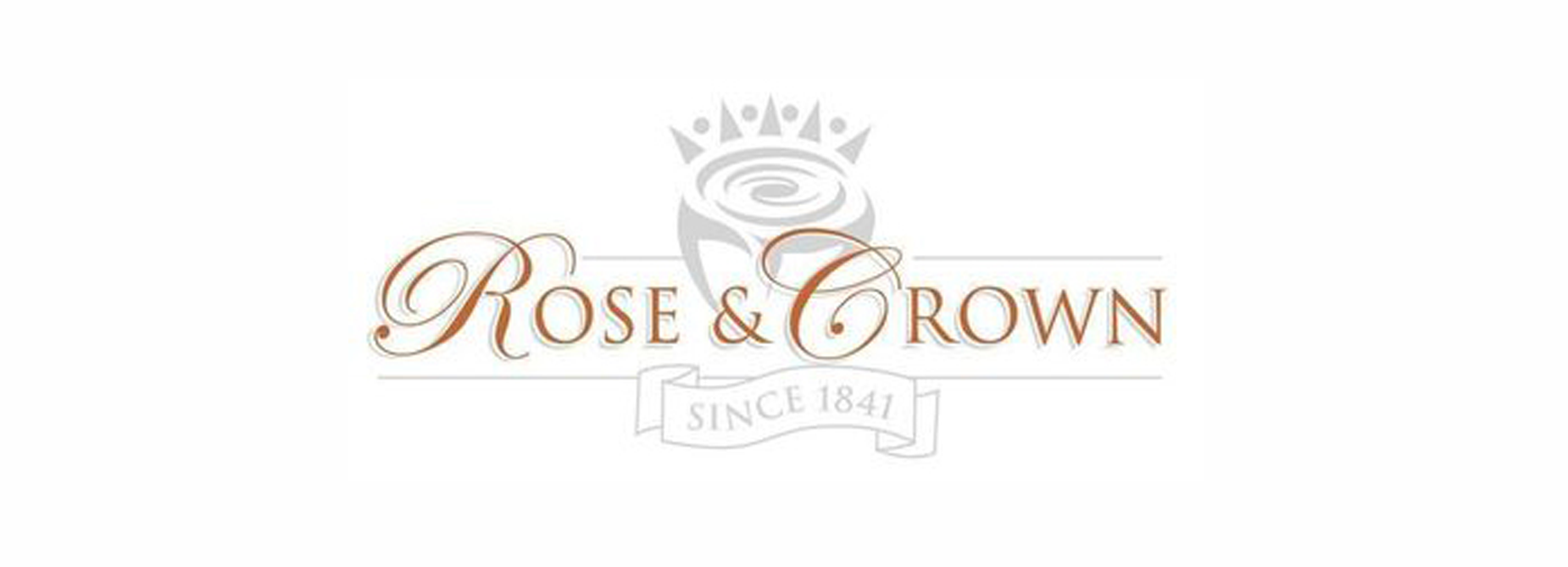 The Rose and Crown logo
